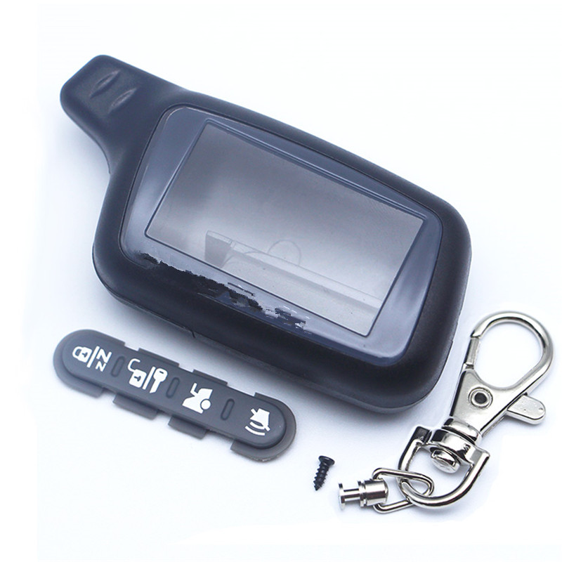 TOMAHAWK X5 Case Keychain Alarm For Russian Version 2-way Car Alarm Remote Controller Only Body Keychain Tomahawk X5