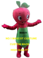 red apple mascot costume adult size custom cartoon character cosplay adult size carnival costume 3272