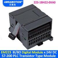 EM223 6ES7 223 1BH22 0XA0 مناسبة سيمنز S7 200 PLC 8I/8O نوع الترانزستور وحدة رقمية 223 1BH22 0XA0|module|   -