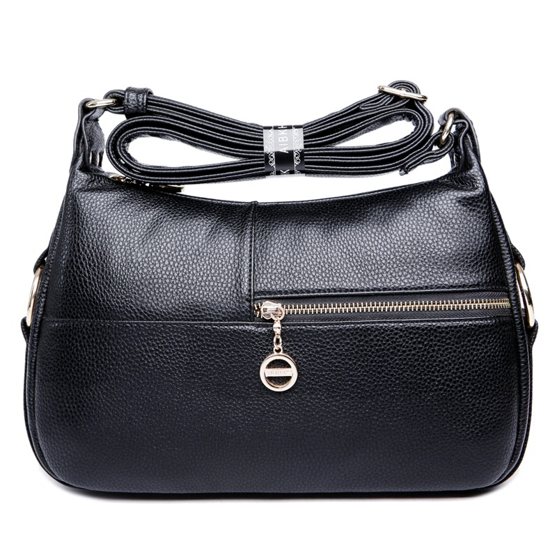 ФОТО Free Shipping 2017 Fashion Genuine Leather Women Messenger Bags Women's Single Shoulder Bags Crossbody Satchel Bags High Quality