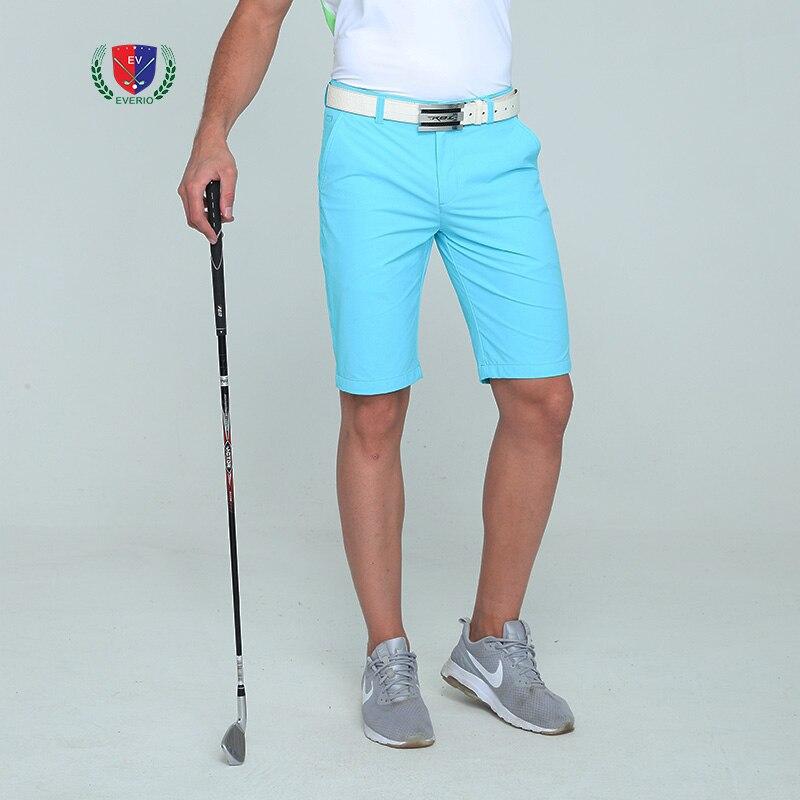 EVERIO été nouveau short de Golf pour hommes au genou respirant à séchage rapide hommes couleur unie sport Shorts de Golf Sportswear 30-40