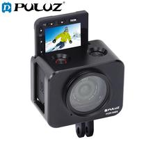 PULUZ אלומיניום סגסוגת מגן מקרה עבור Sony RX0 השני מצלמה כלוב & 37mm UV מסנן עדשת & עדשת שמשייה עם ברגים ומברגים