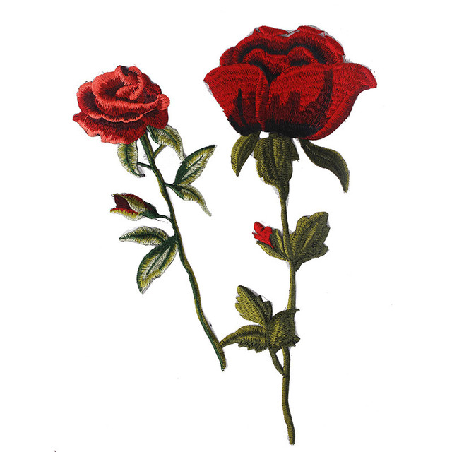 Aliexpress buy rose lace floral embroidery patches