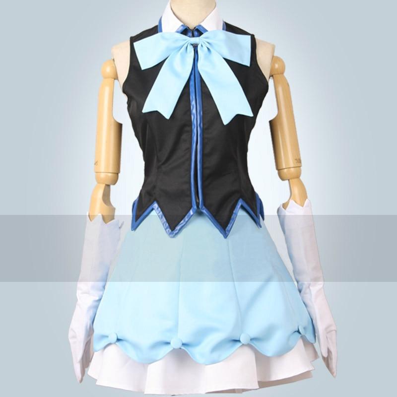 Beyond the Boundary Kyoukai no Kanata Nase Mitsuki idol cos stage dress Cosplay Costume Halloween costume for adult