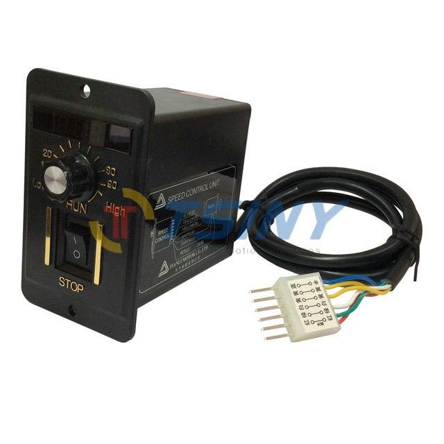 40 Watt Digitalanzeige 220 V Elektrische Drehzahlregler Einheit für ...