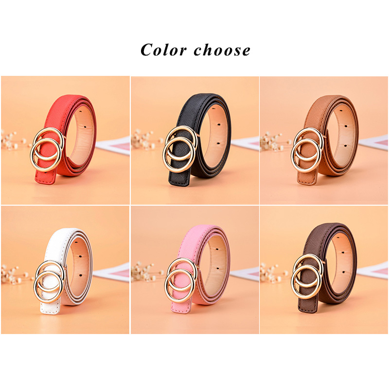High quality Children Leather Belts for Boys Girls Kid Casual Pu Waist Strap Waistband for Jeans Pants Trousers Adjustable Z31 in Men 39 s Belts from Apparel Accessories