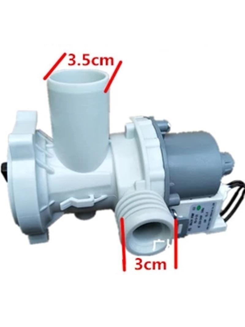 drainage pump for haier XQG70-1212AMTLM/1012AMT/XQG70-B1286 drain pump for washing machine washing machine parts washing machine drainage valve beauty traction drainage motor pqd 701