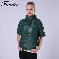 FIONTO Cotton Padded Jacket Parka Winter Jacket Women Long Fur Hooded Winter Coat Cloak Women Winter