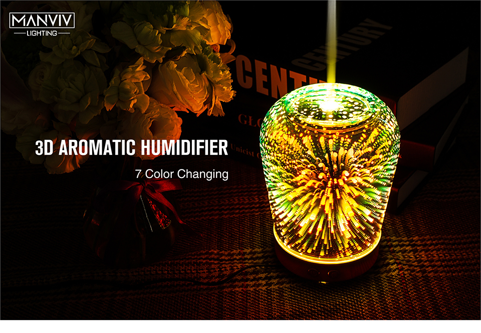 3d decorativo colorido mudando a lâmpada ac