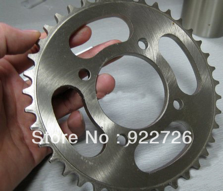 RK Racing Chain 3076-040WG Steel Rear Sprocket and GB525XSO Chain 20,000 Mile Warranty Kit