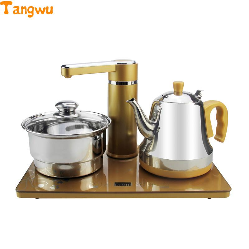 Free shipping Automatic water supply electric kettle tea set free shipping automatic water supply electric kettle tea set pumping furnace