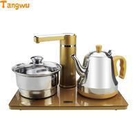 Frete grátis fonte de água automática chaleira elétrica conjunto chá