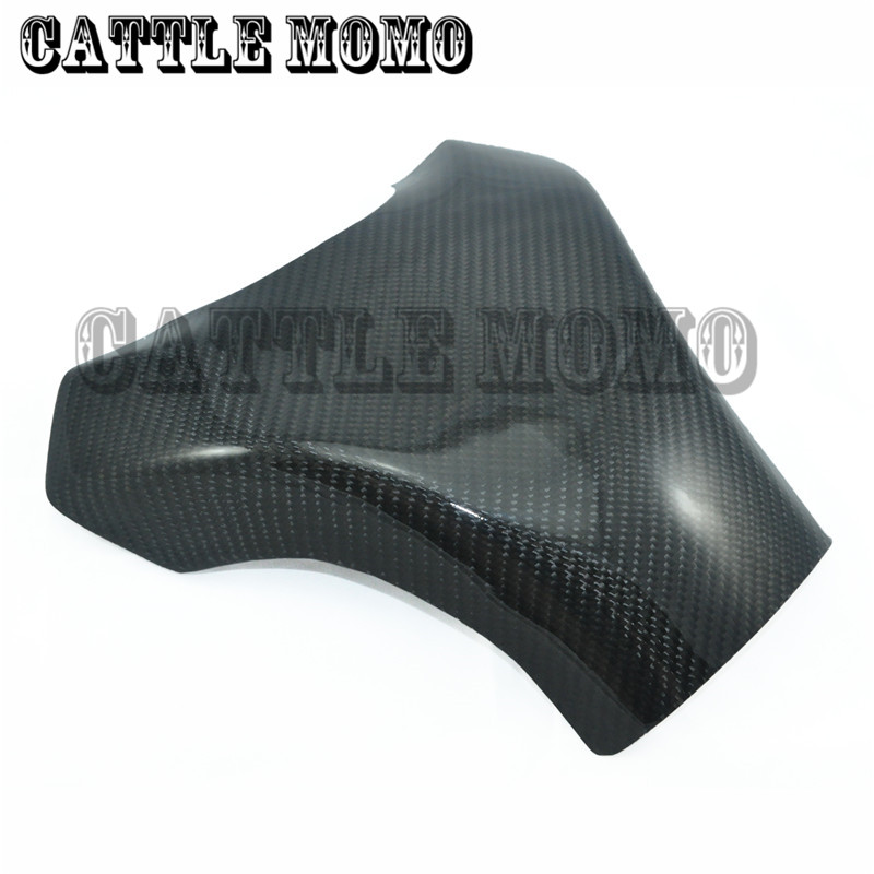 Brand New Motorcycle 3D Carbon Fiber Tank Pad Protector For ZX10R ZX-10R 2008 2009 2010 Motorcycle Tank Cover Pad Protector free shipping new style motorcyle accessories carbon fiber motorcycle exhaust pipe muffler for kawasak zx 6r zx 9r zx 10r