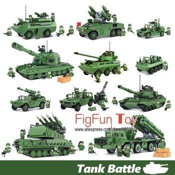 Russe Militaire T90 Réservoir Chinois Humvee Hmmwv Fusée Missile Launcher Atv Blocs de Construction Soldat Véhicule Pistolet BRICOLAGE Enfants Jouet