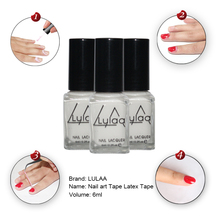 Whitenail art Tape Latex Tape & finger skin protected liquid Palisade Easy clean Base Coat care nail polish