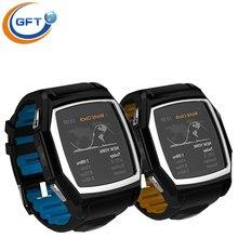 GFT GT68 Freies verschiffen! tragbare geräte bluetooth smartwatch pulsmesser wasserdicht mit kamera Passometer sportuhr