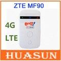 Original desbloqueado zte mf90 100 m 3g 4g lte mobile hotspot wi-fi router modem frete grátis