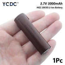 POSTHUMAN new 18650 Li-ion battery High Drain HG2 Rechargeable Battery 3000mAh Max.20A+DIY Nickel For Torch Vape