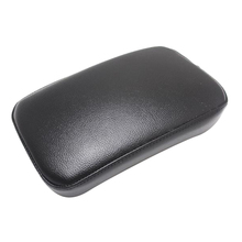 Custom Chopper Rectangular Pillion Passenger Pad Seat 6 Suction Cup for  Artificial Leather