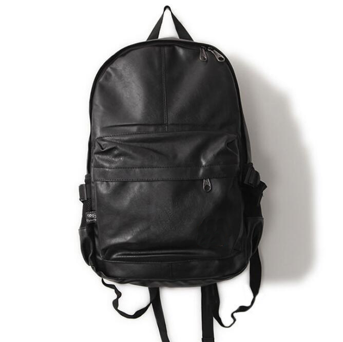 Compare Prices on Black Leather Backpack Mens- Online Shopping/Buy ...