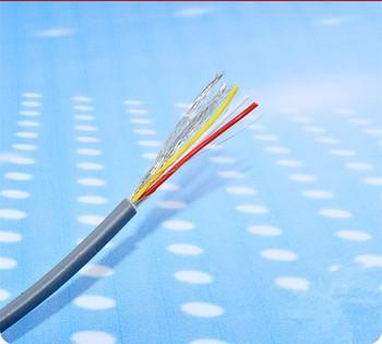 2/3/4 hilos apantallado de alambre de 26AWG de línea de Audio de 2547 cable de señal de audio de cable Multi- núcleo para cable de audio para amplificador