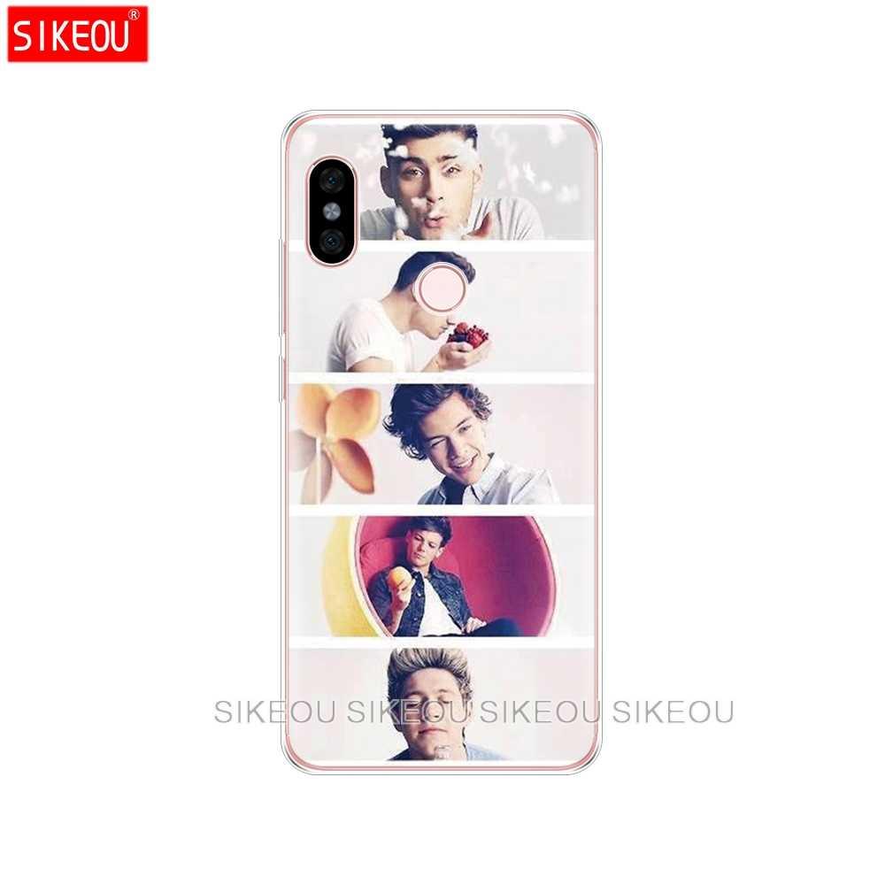 シリコンカバー携帯電話ケース Xiaomi redmi 5 4 1 1 s 2 3 3 s プロプラス redmi note 4 4X 4A 5A 一方向ハリースタイル