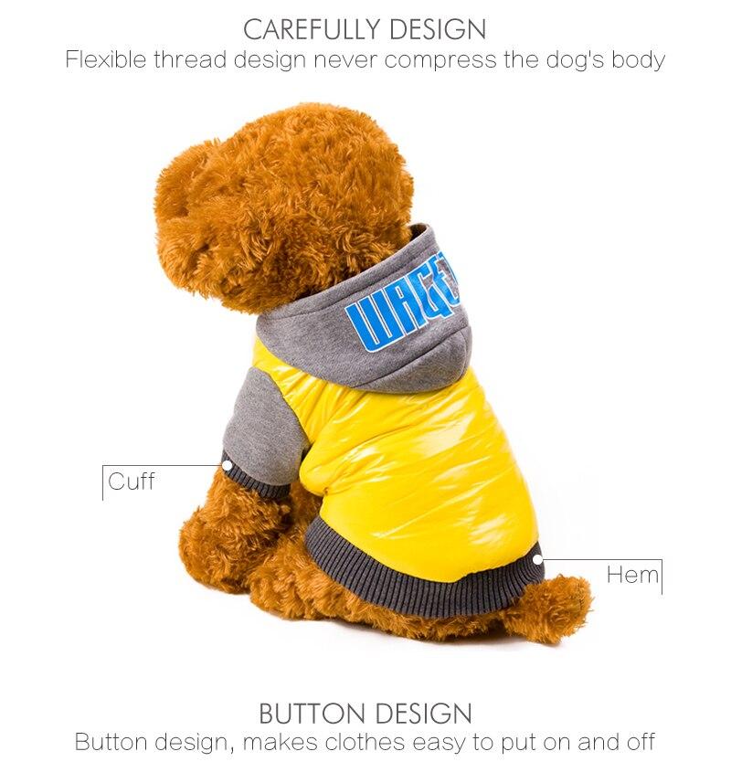 7 dog coat