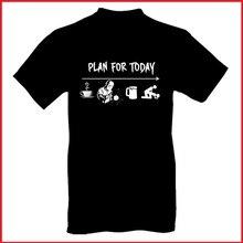 Kế hoạch cho Ngày Hôm Nay Áo Thun Nam Phong Cách Thời Trang Đường Phố Cotton Tất Cả Kích Thước 100% Cotton nam In Hình 100% Cotton đầm Áo Thun