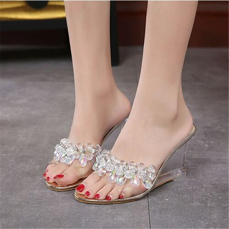 7217437839afe3 Buy diamond wedges sandals and get free shipping on AliExpress.com