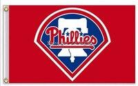 Philadelphia Phillies MLB Flag Hot Sell Goods 3X5FT 90x150cm Sport Outdoor Banner Brass Metal Holes Custom