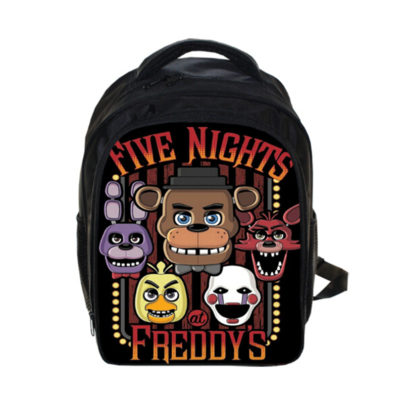 Five Nights At Freddys Backpack FNAF Chica Foxy Bonnie Mangle Children School Bags Chica Backpacks Boys