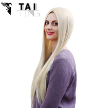 Sexy Product Straight Wig Natural Heat Resistant Anime Cosplay Perruque Synthetic Wigs Women Hair Style Pelucas Pelo