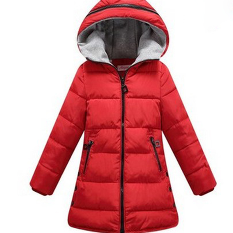 Girl coat Children's Outerwear thick Kids Fashion Casual Child Jackets For Girls Warm Winter Hooded Jacket Coats candy solid free shipping 2016 kid girl fashion solid color wind coat outerwear child girl cappa dress jacket spring autumn winter girl coat