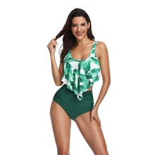 Women Swimwear Two Pieces Suits Bikini Set High Waist Bottom Bathing Suit