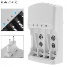 Carregador de Bateria Rápida com Função Descarga para Aa 3 em 1 Palo Marca Lcd de Aaa 9 V Ni-cd Baterias Recarregáveis Ni-mh