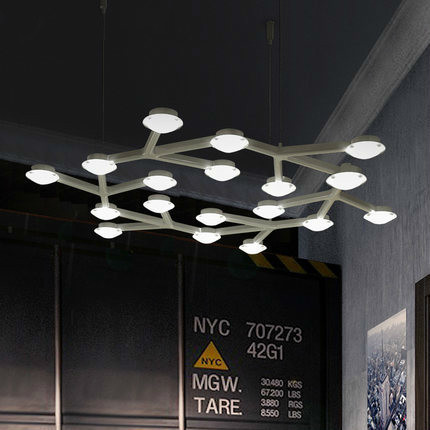 Black White Nordic Modern Industrial Pendant Lights Fixtures For Home Bar Restaurant Office Indoor Lighting LED