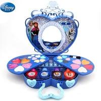 39 pcs frozen elsa and anna Lip gloss lipstick Makeup set Disney Princess Series Beauty pretend play girls Gift Box