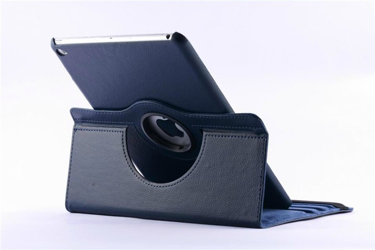 360 Rotating PU Leather Smart Stand Case For Apple New Ipad 2017 9.7 Inch A1893 Funda Tablet Protective Shell + Pen + Film