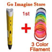 3D Волшебные Ручки 1.75 мм ABS/PLA i5 6400 для детей подарок на день рождения Art полезные подарки 3D Рисунок принтер ручка