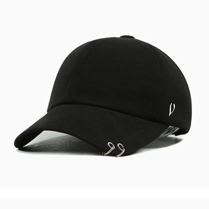 2016 New Fashion Snapbacks Metal Rings Letters Hip Hop Cap