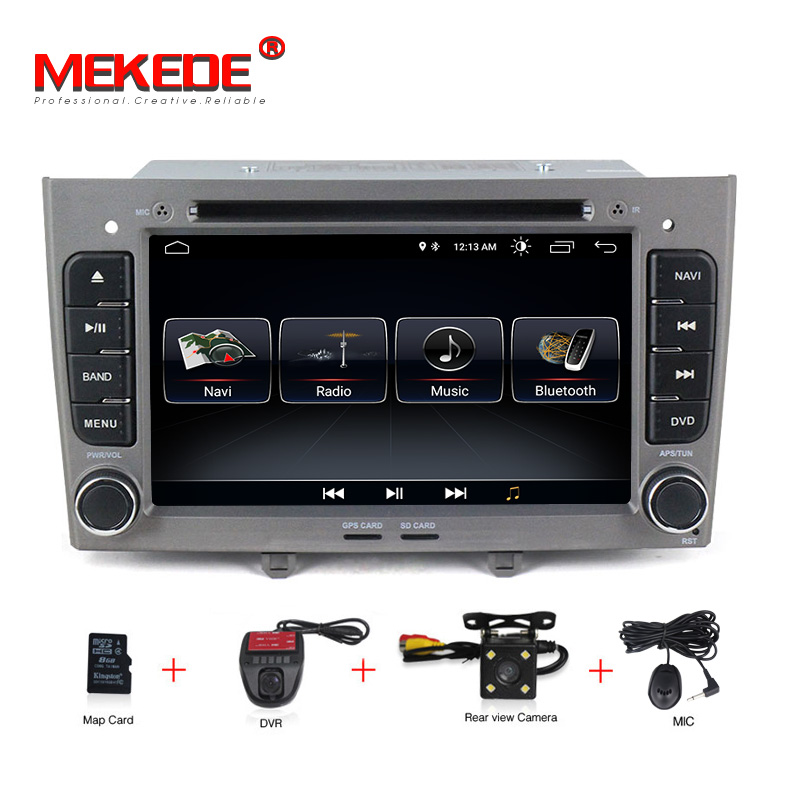 2din car dvd player android 8 0 autoradio multimedia player for peugeot 308 2007 2013 408 2011. Black Bedroom Furniture Sets. Home Design Ideas