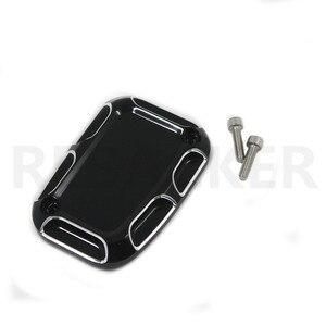 Черный главный тормозной цилиндр для переднего колеса, чехол для Harley Road King Gliding VRSCF VRSCD VRSCR VRSCX V-Rod электровелосипед FLH FLHX FLTR