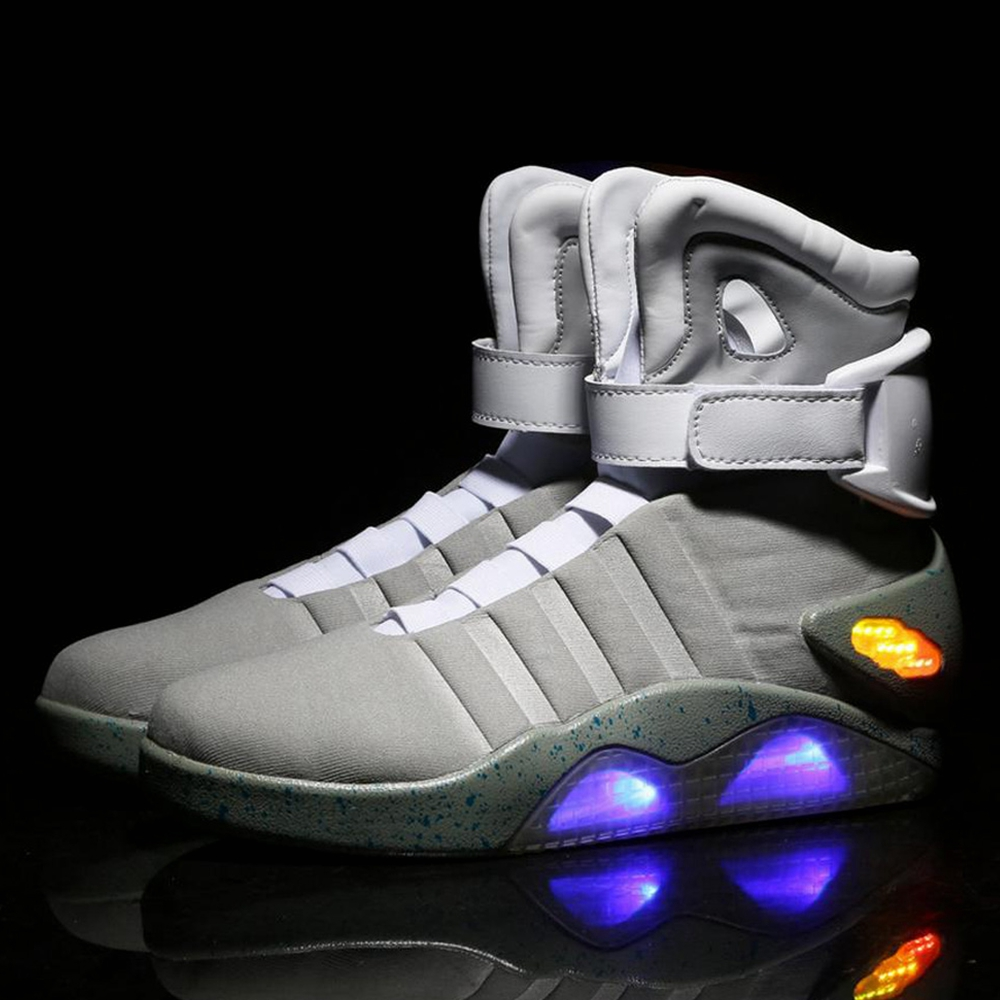 bdb2633f715caf Velcro closure  light up style led sport shoes  similar to the shoes in the  movie!