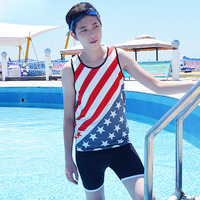 NEW Summer Vest Swimwear With Breast Binder For Tomboy Lesbian Bathing Suit Tanks Tops Chest Binder