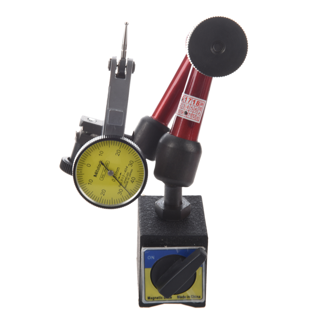 magnetic digital Accuracy 0.01mm Dial indicator