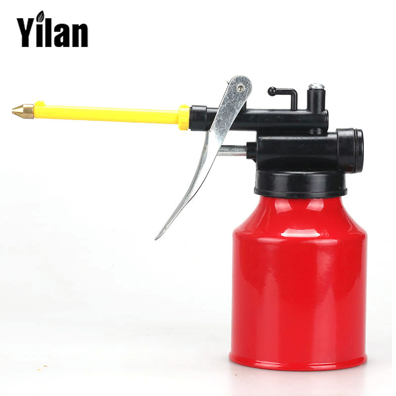 250g High Pressure Metal Tube Pump Oiler Hose Machine Oiler Grease Gun Tool Hand Oil Grease Gun High Pressure Fed Oil Gun
