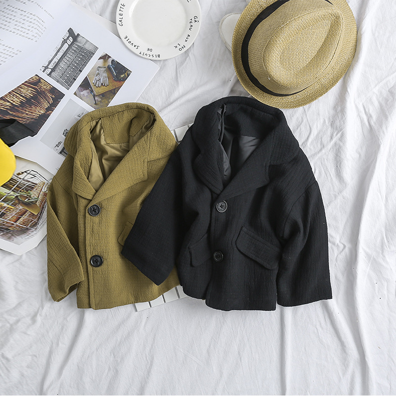 2018 New Baby Boy Blazer Coats Korean Style Clothes Gentleman Boys Casual Blazer Jackets Toddler Boys Suits Blazer Kids Outwear одежда на маленьких мальчиков