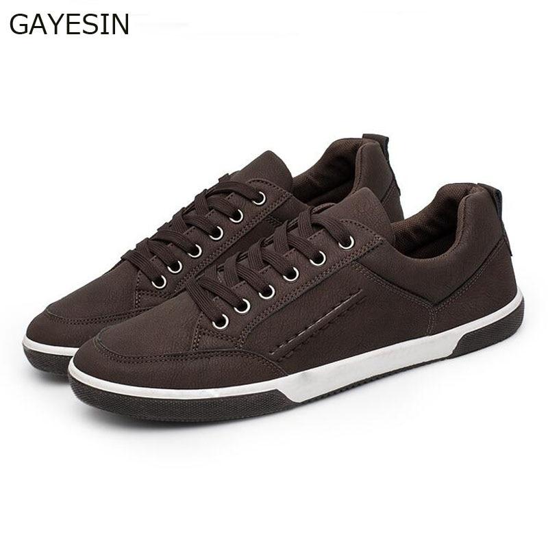 2018 New Popular Style Men Casual Shoes Lace Up Comfortable Shoes Men Soft Lightweight Outsole Hombre zapatos hombre vestir