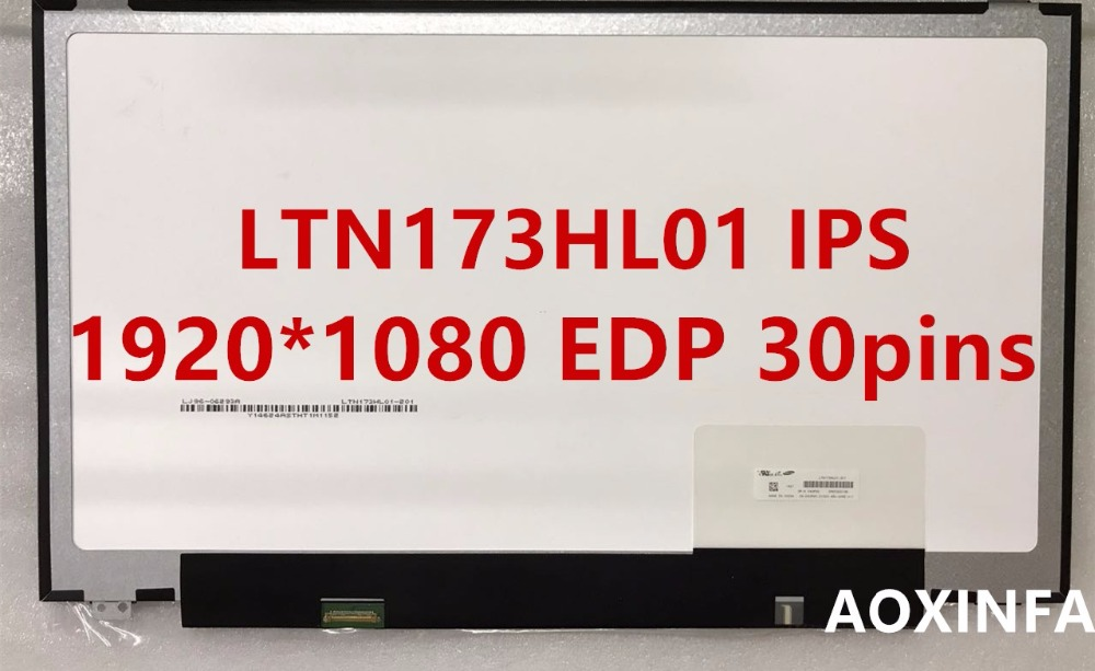 New original LP173WF4-SPF1 LP173WF4-SPF2 LP173WF4-SPF3 LTN173HL01 IPS 1920*1080 30pin LCD LED PANEL LAPTOP SCREEN