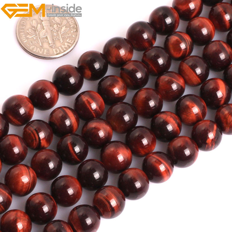 """9-10MM NATURAL RED BROWN AGATE GEMSTONE GRADE AAA ROUND LOOSE BEADS 7/"""""""